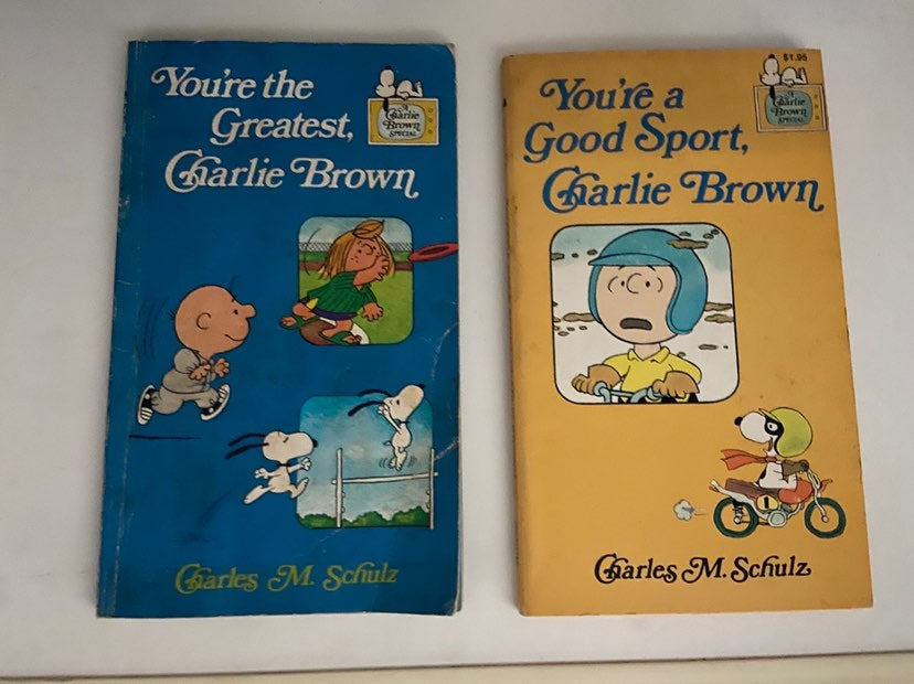 Charlie Brown Books - First Edition