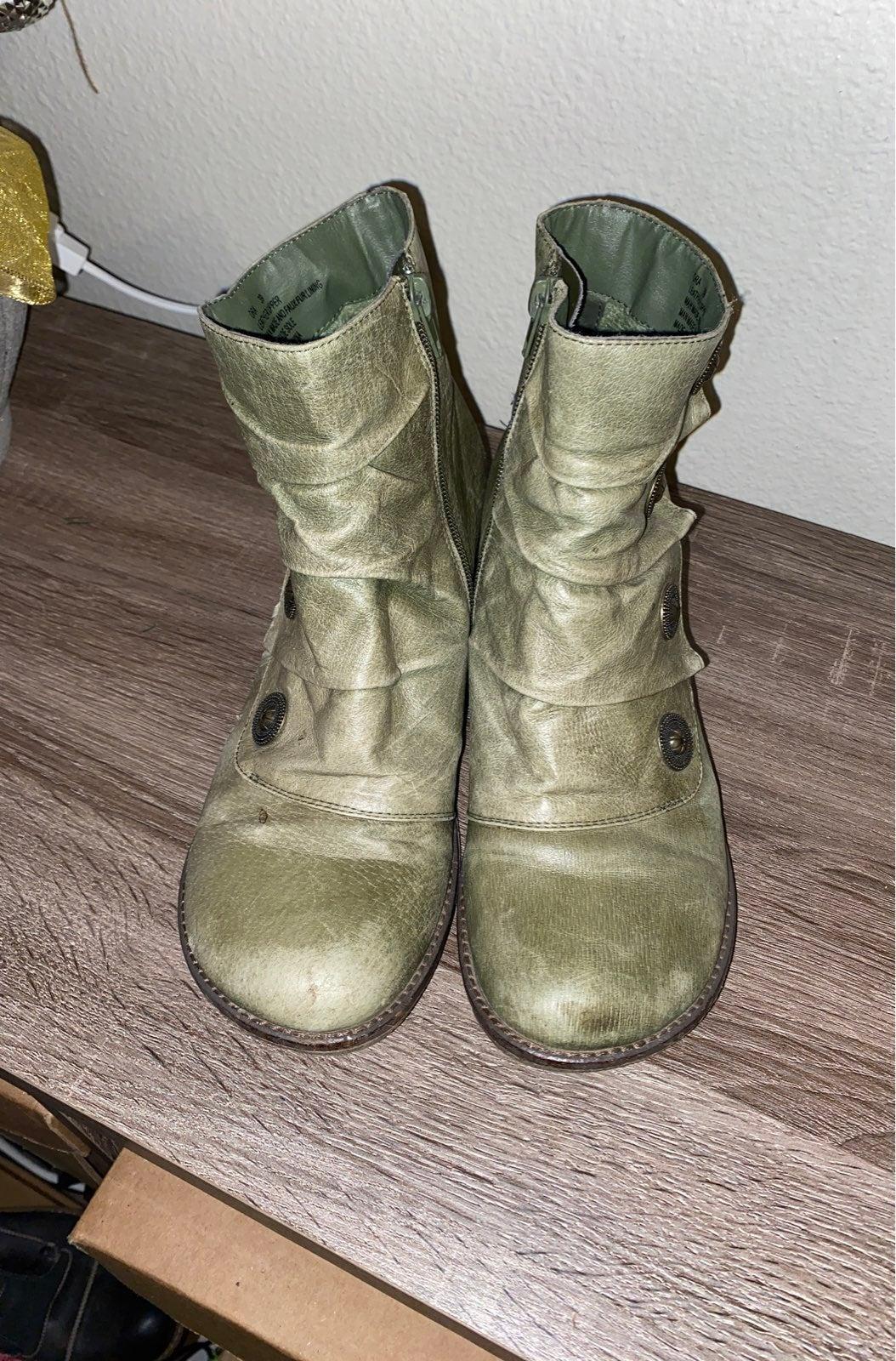 miz mooz ankle boots