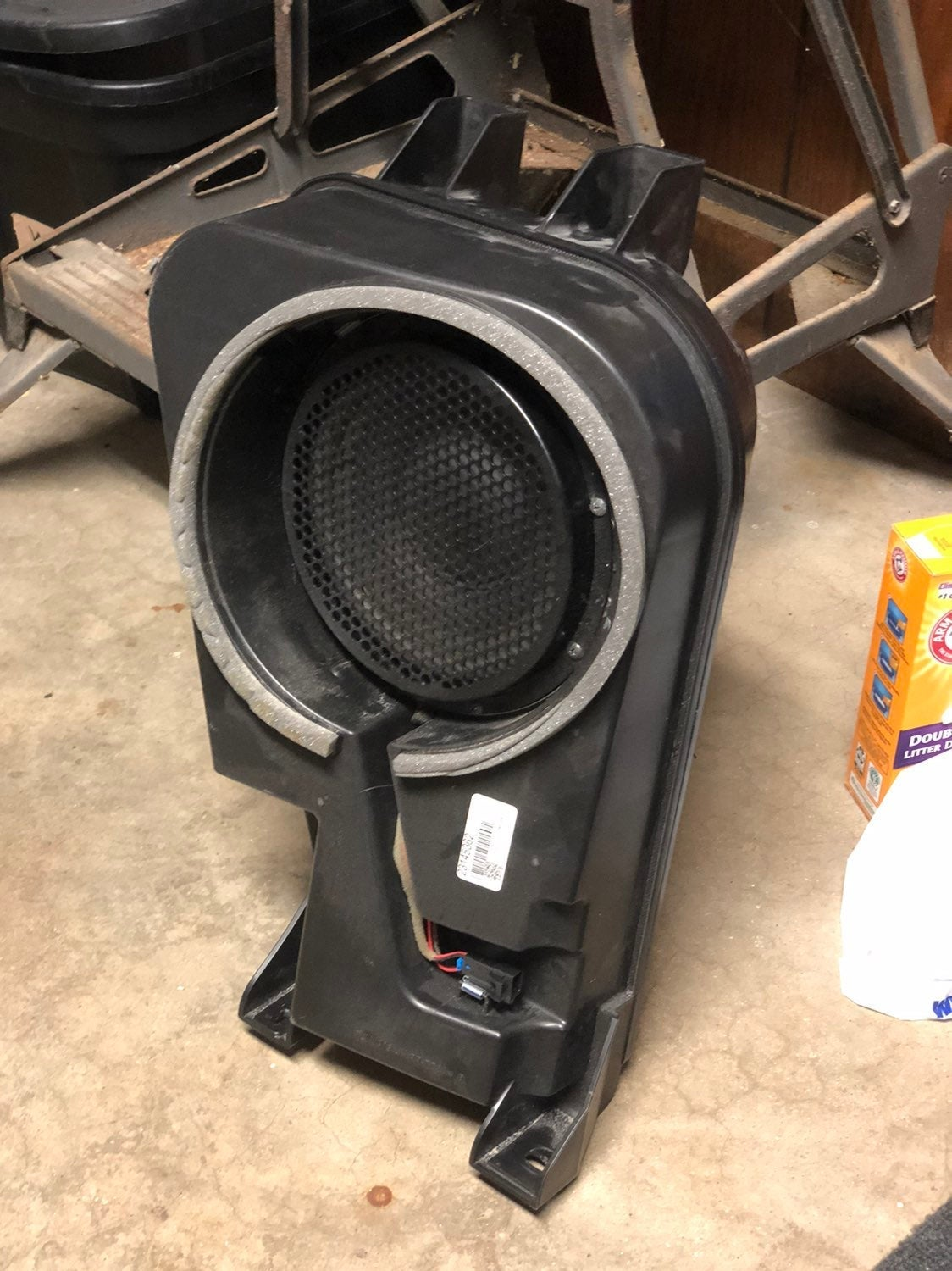 2013 Chevy Equinox subwoofer