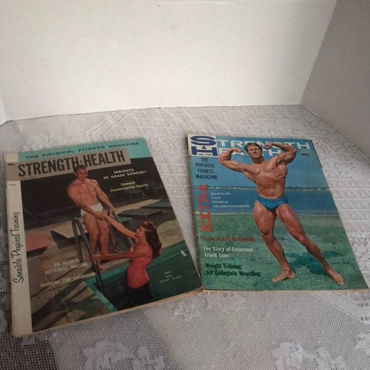 Vintage Body Building Magazines