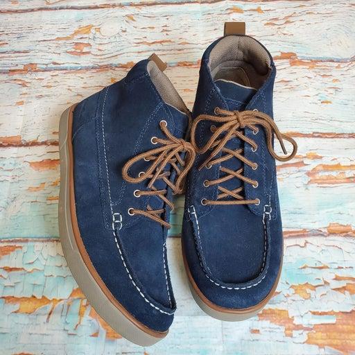 Eddie Bauer Chukka blue casual boots