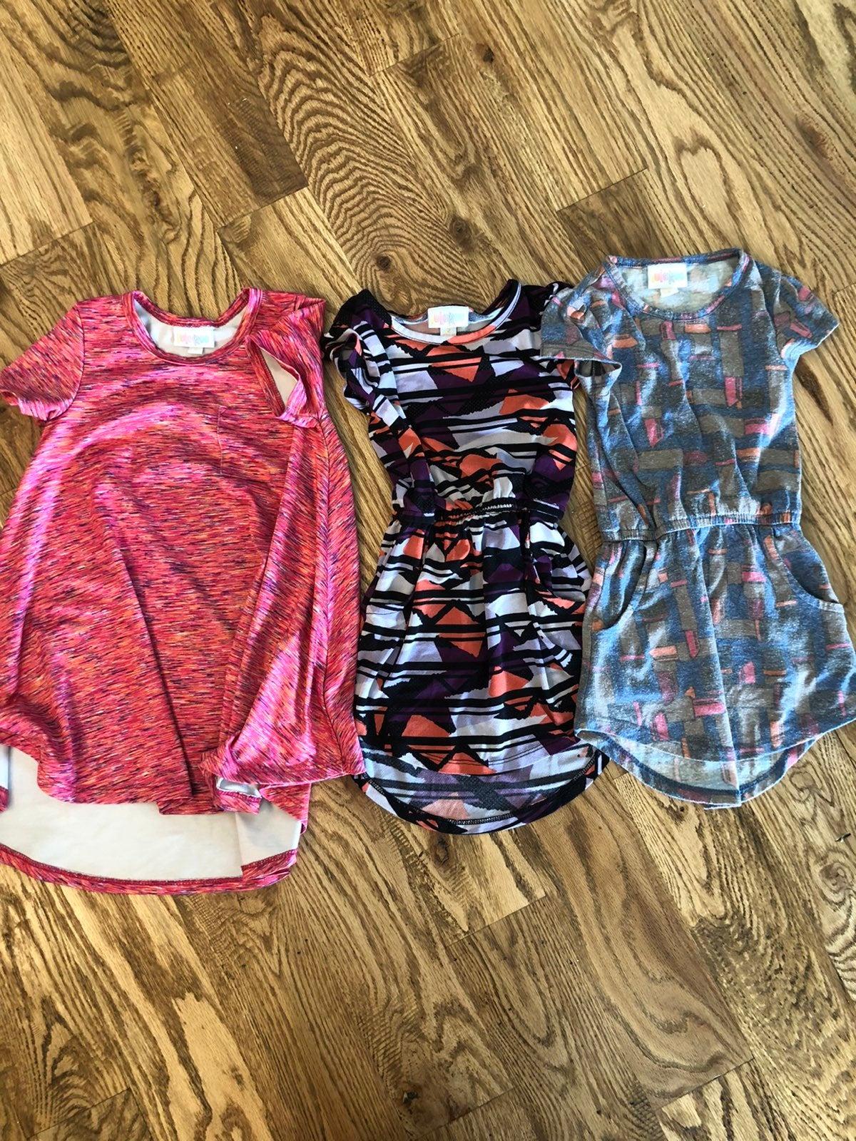 Toddler Girl Lularoa Dress Bundle