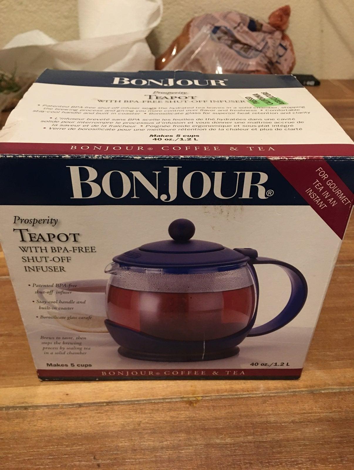 Bonjour Glass Teapot