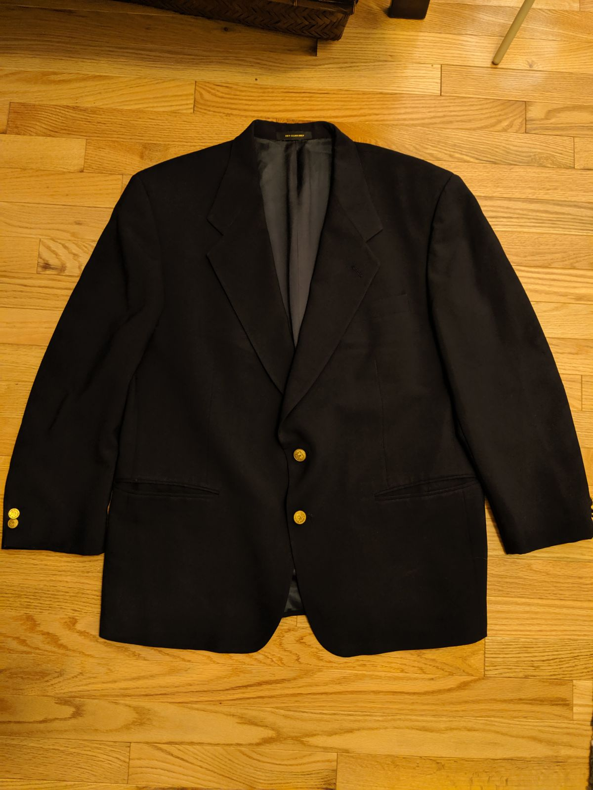 Givenchy vintage navy blue blazer jacket