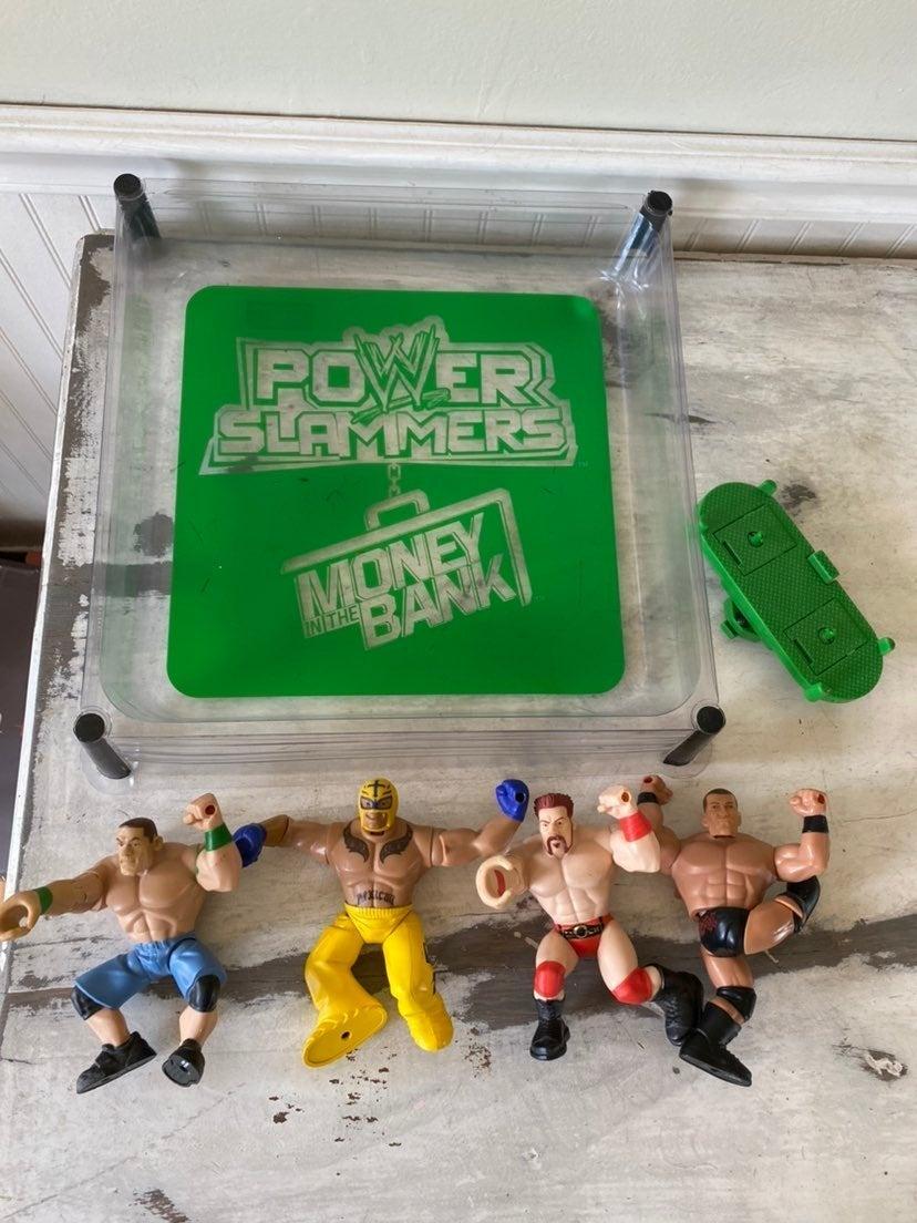 WWE Power Slammers & Ring