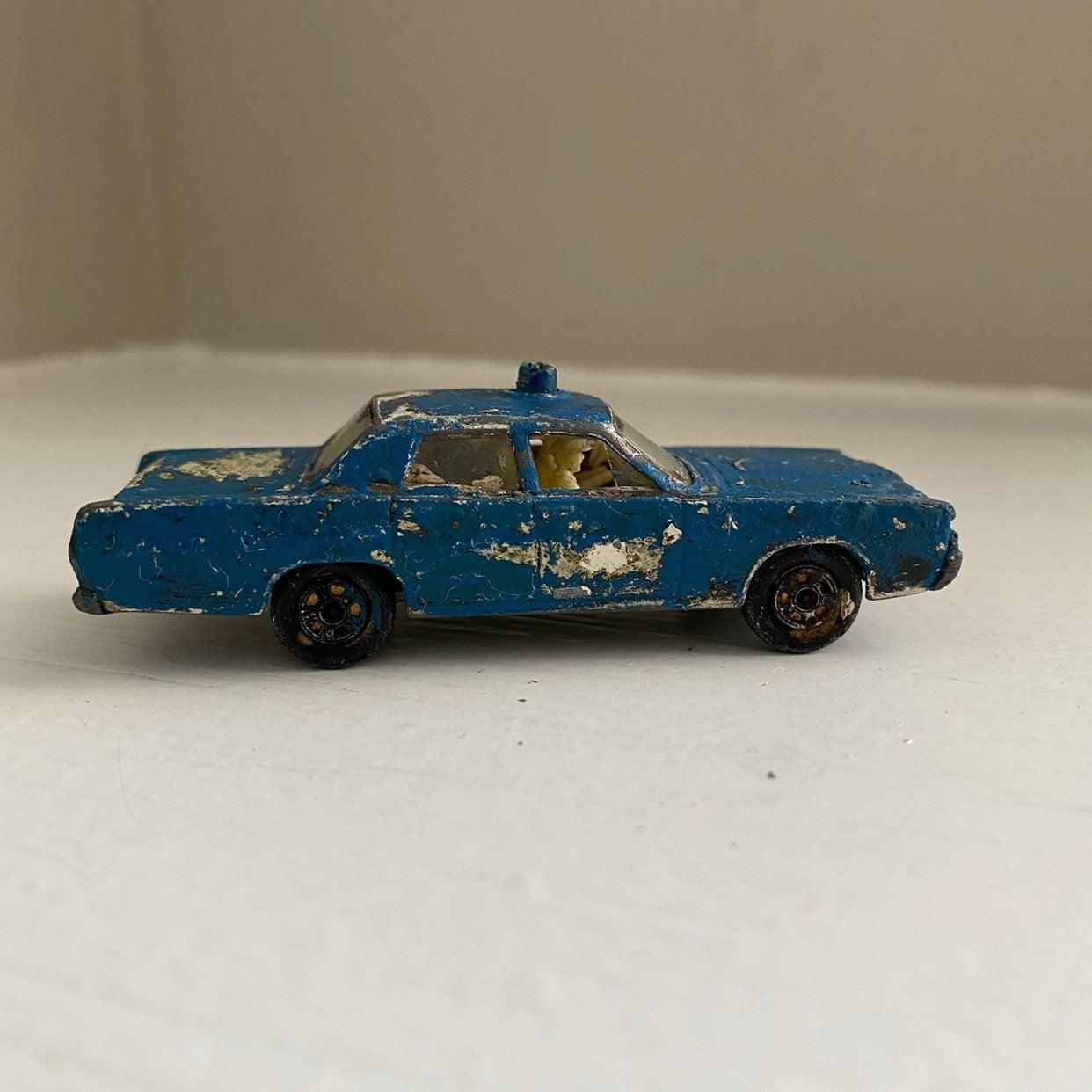 Matchbox Blue Ford Fairlane Police Car