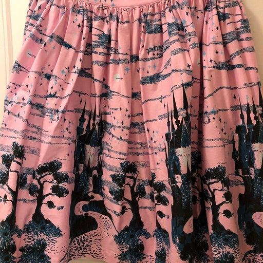 Fairytale Castle Skirt Pin Up Couture