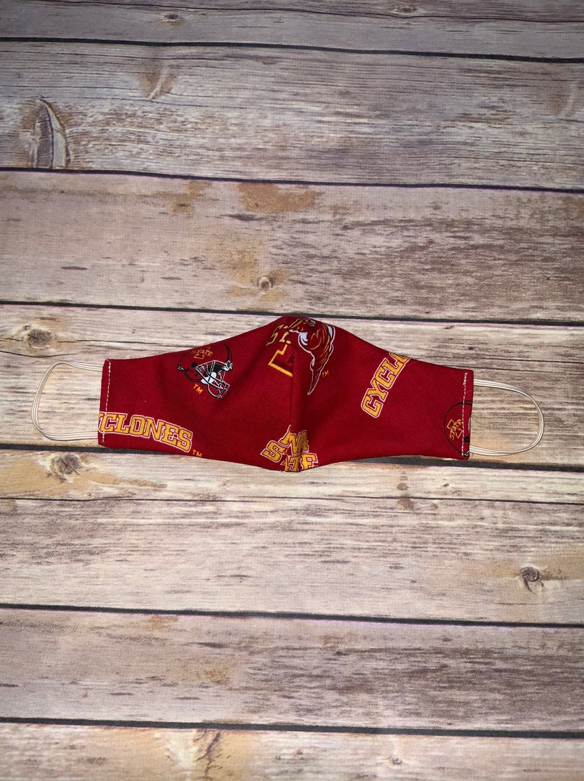Iowa State Cyclones kids 2-5 mask