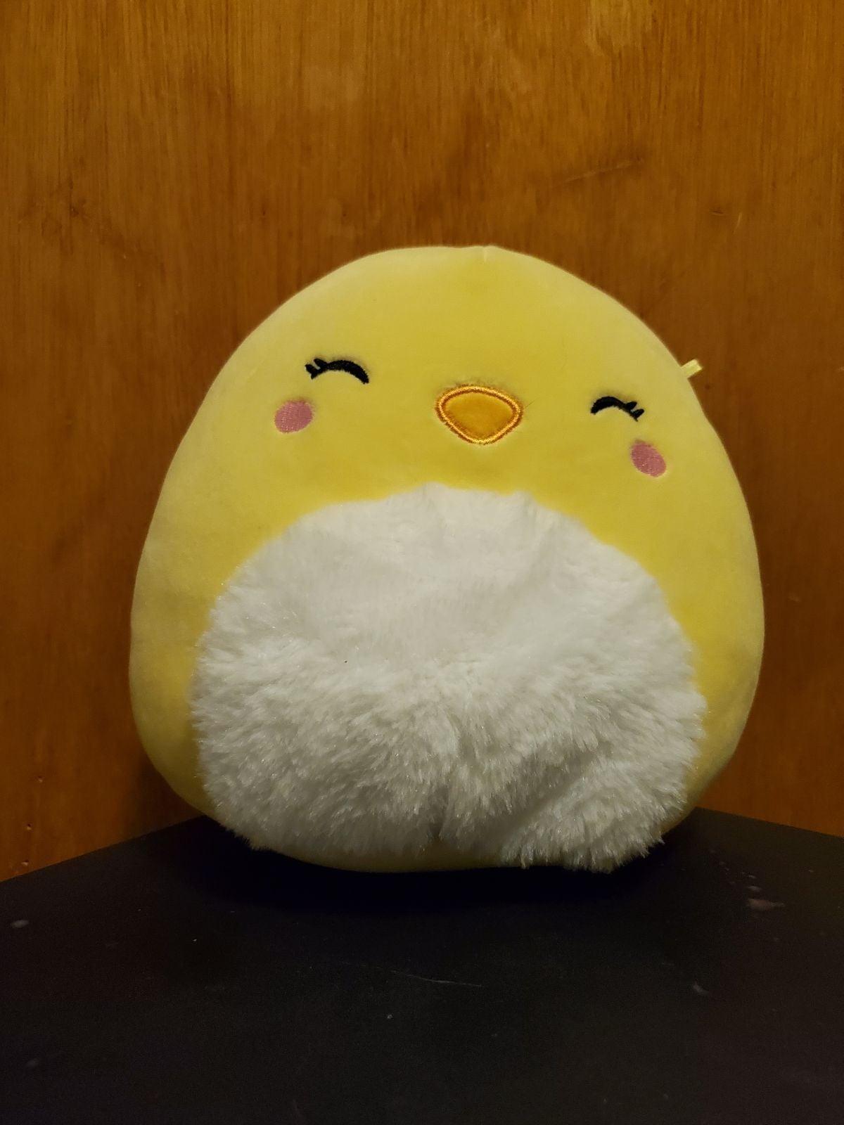 "Chuck the chick squishmallow 8"""