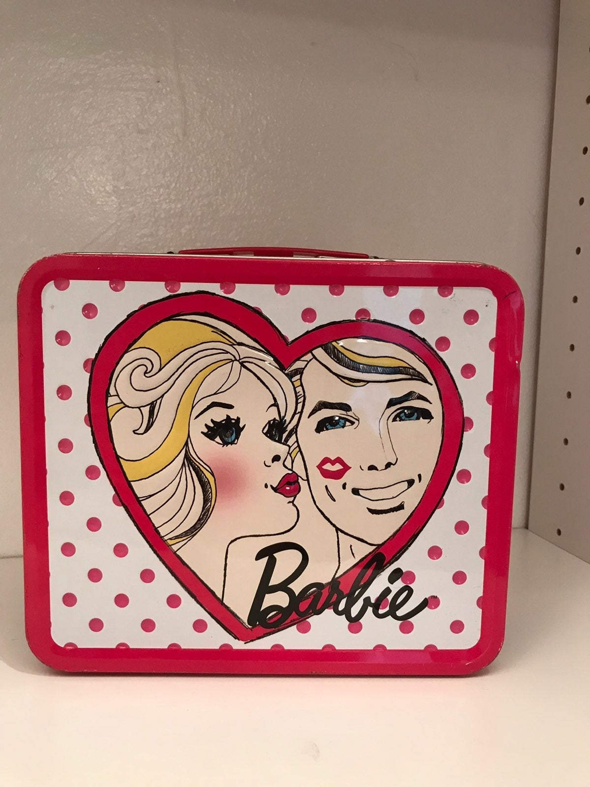 Barbie tin Lunch Box