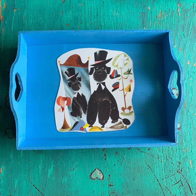 Small vintage tray