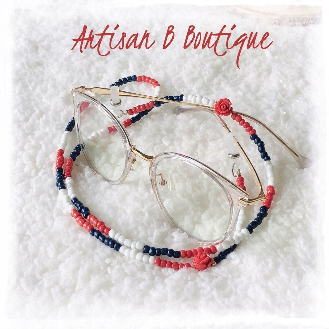 Handmade Beaded Eyeglass Chain Leash