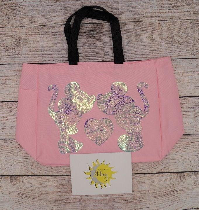 Mickey & Minnie Mandala Tote Bag