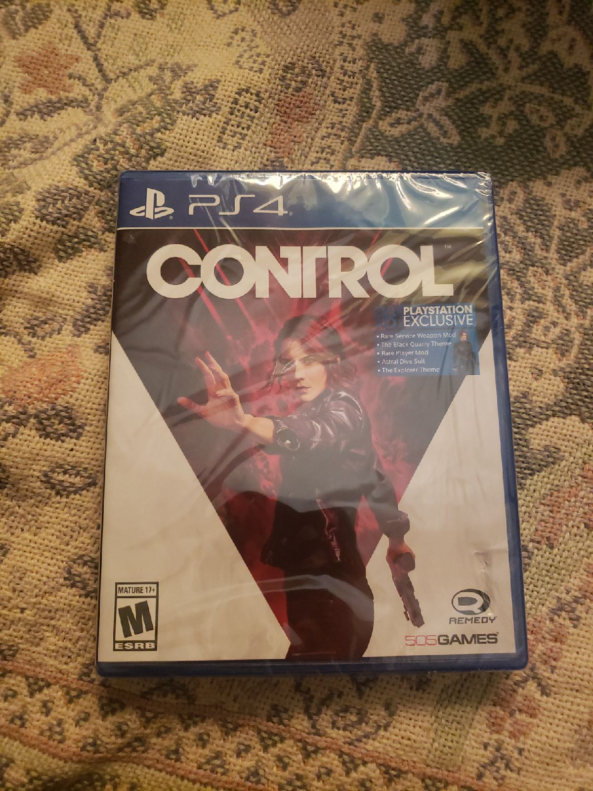Control New Sealed Playstation 4 PS4