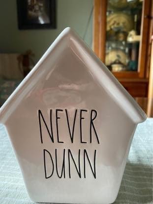 Rae Dunn Never Dunn bank NWT