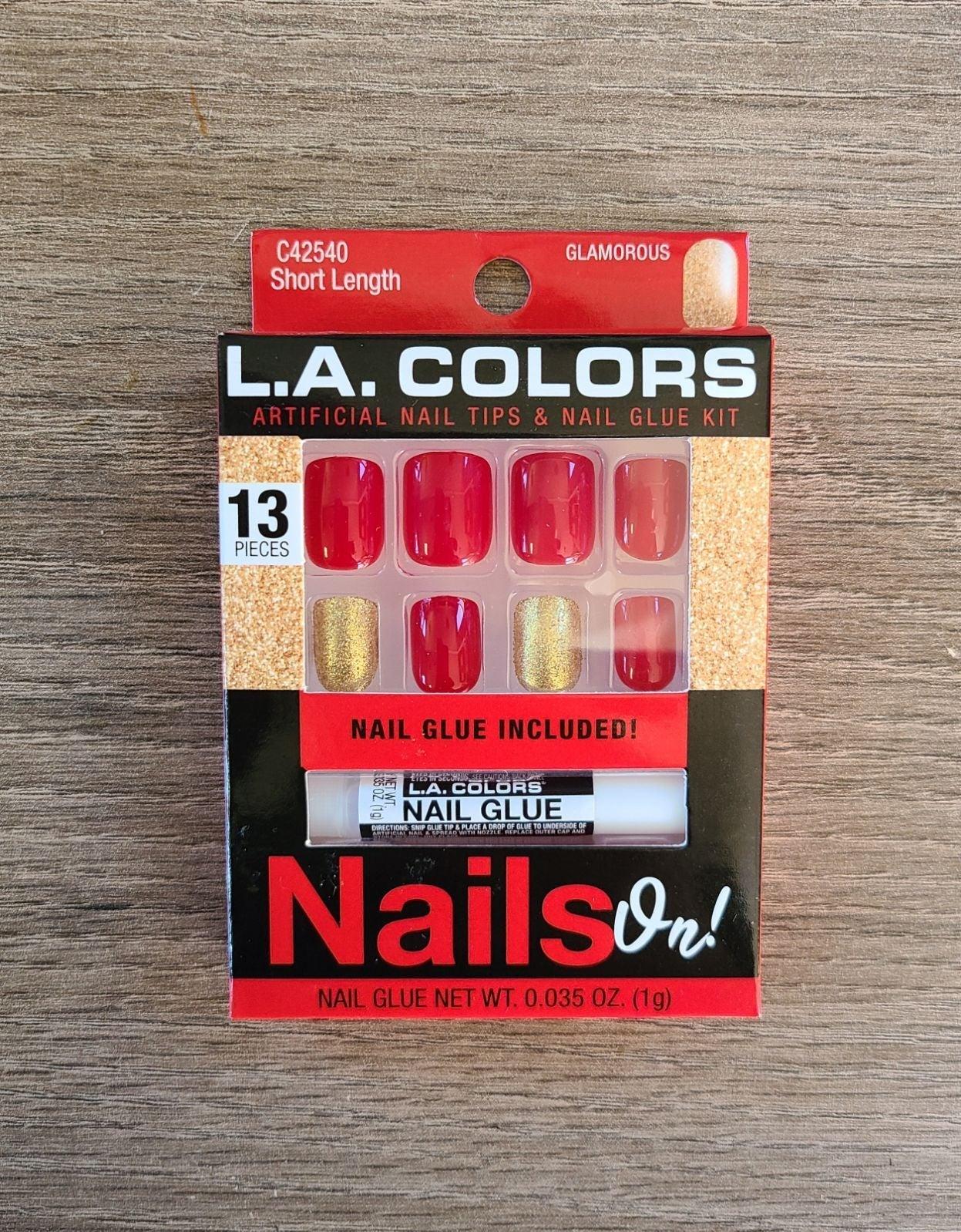 Fashion fake nails, falsies
