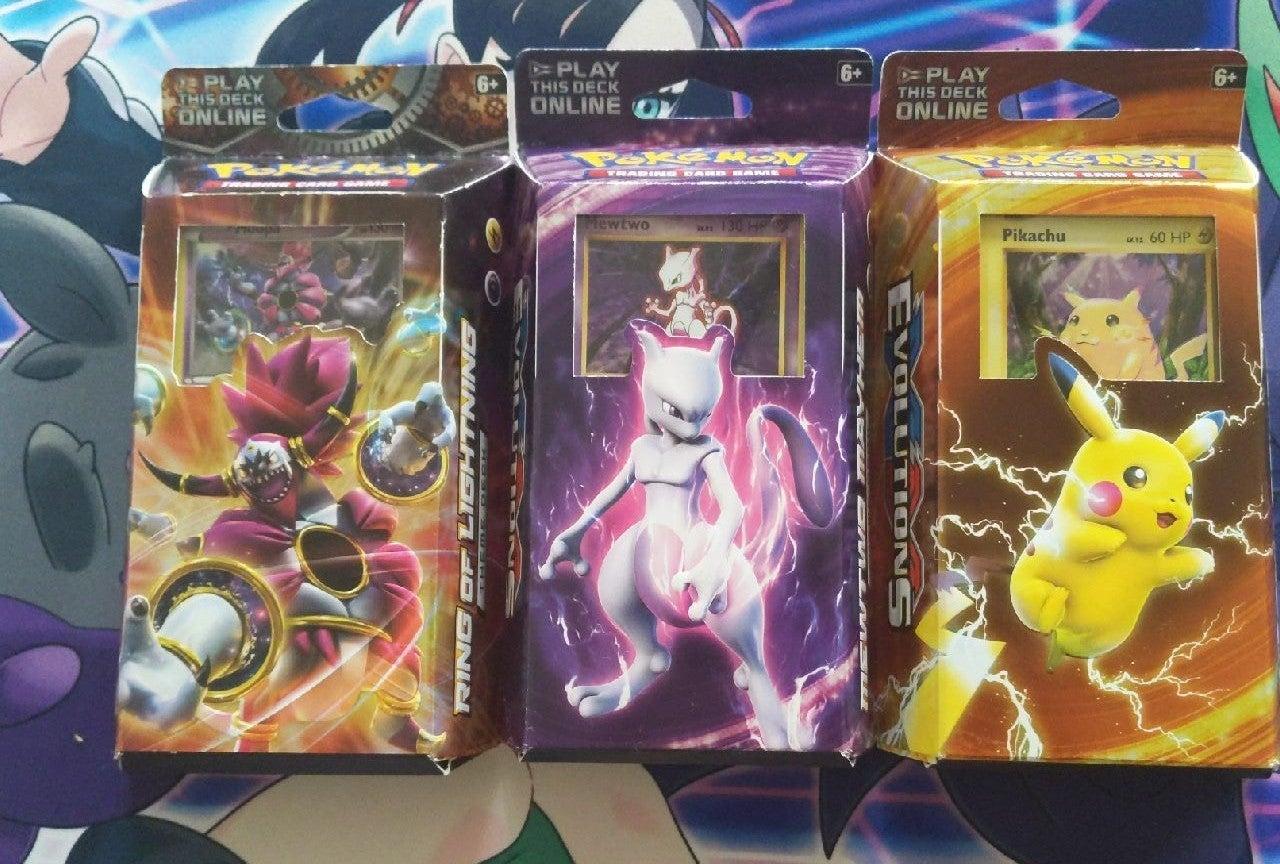 Pokemon Evolutions & Steam Siege Deck