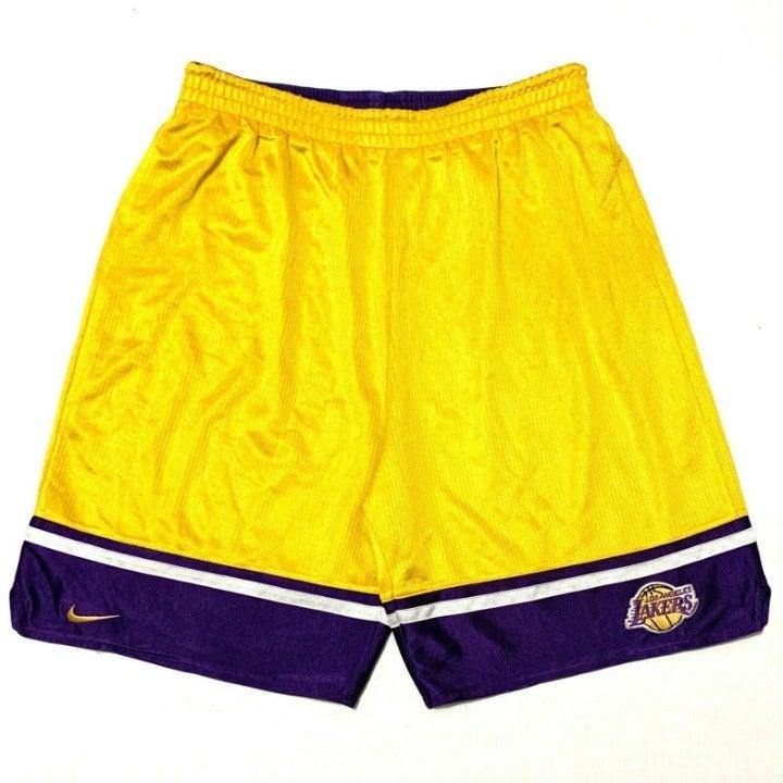 NIKE LOS ANGELES LAKERS Shorts Sz L