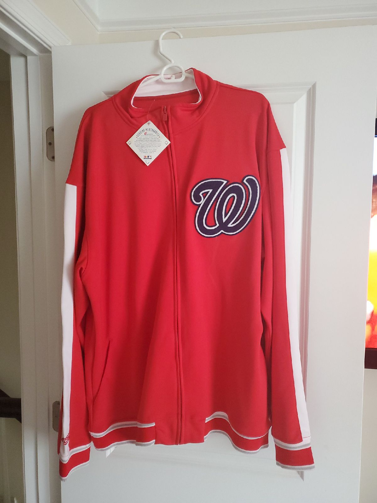 Jacket washington nationals