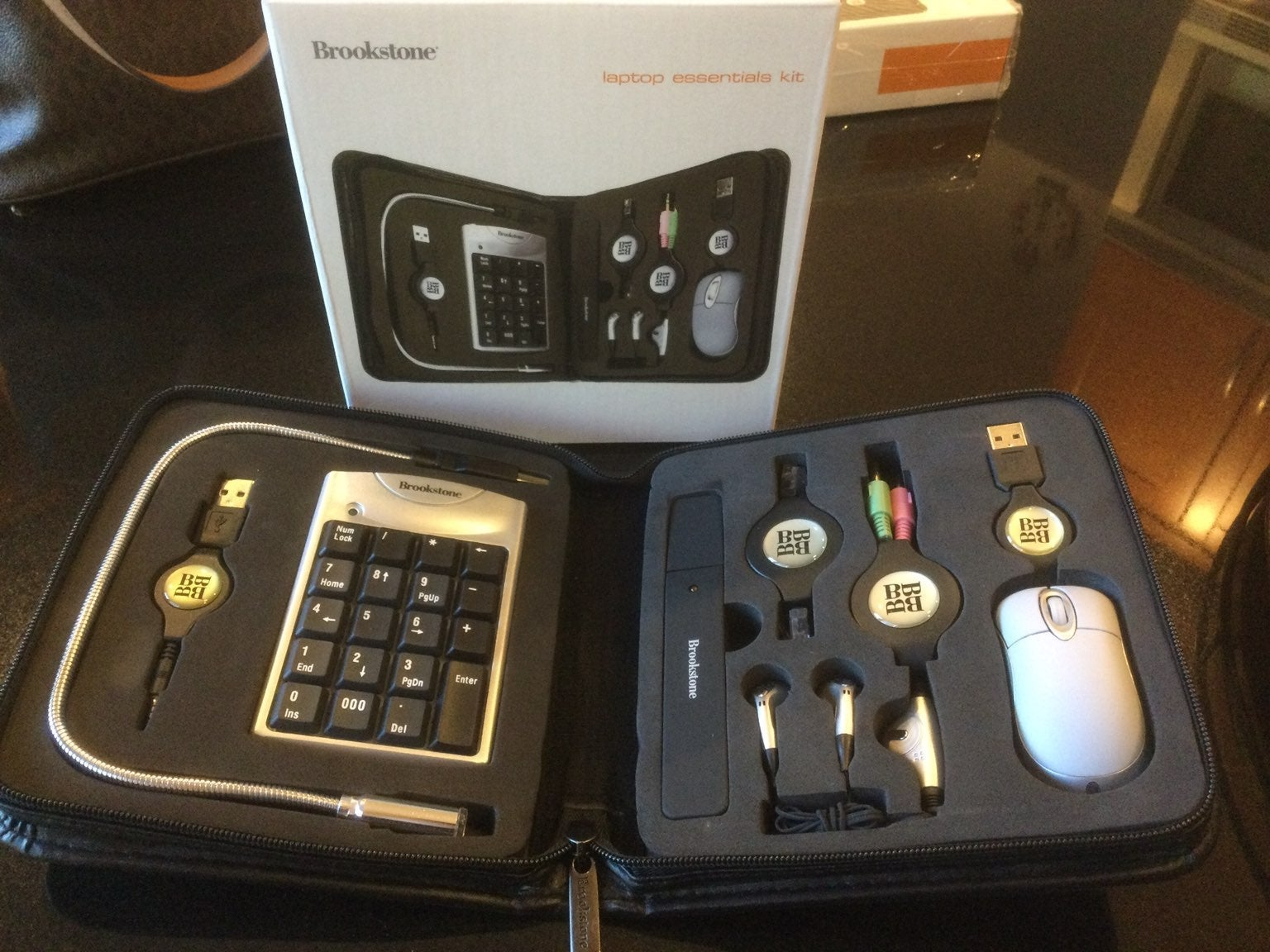 Brookstone laptop essentials kit NEW
