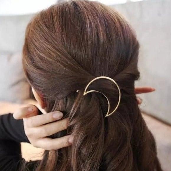 Brandy Melville Crescent Moon Hair Clip