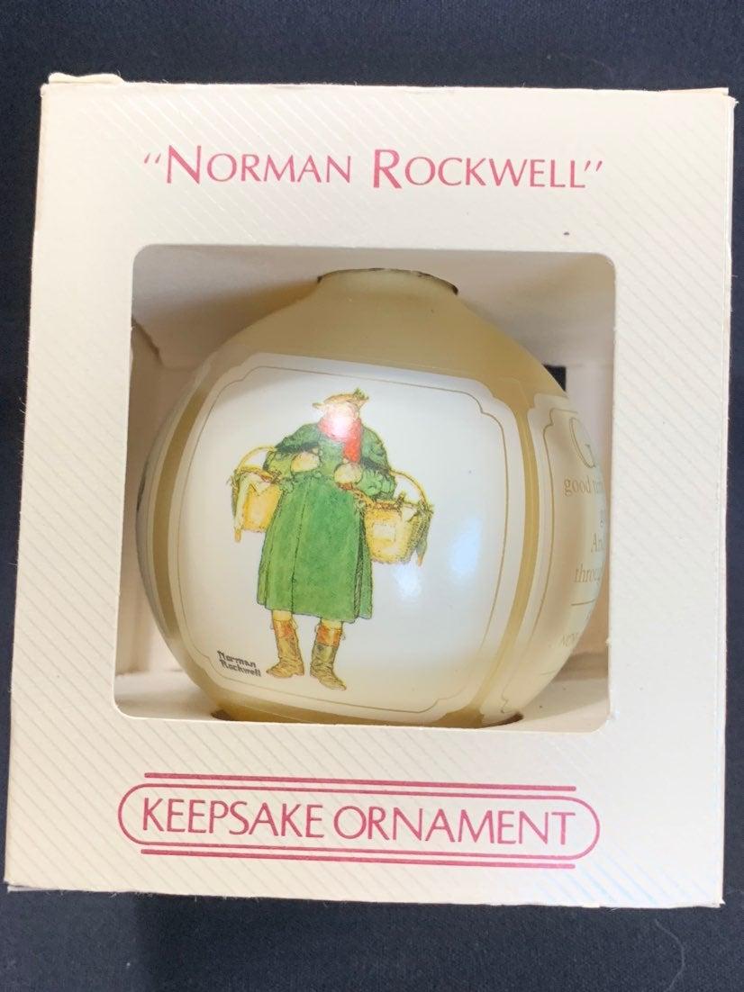 Vintage Hallmark Norman Rockwell 1984