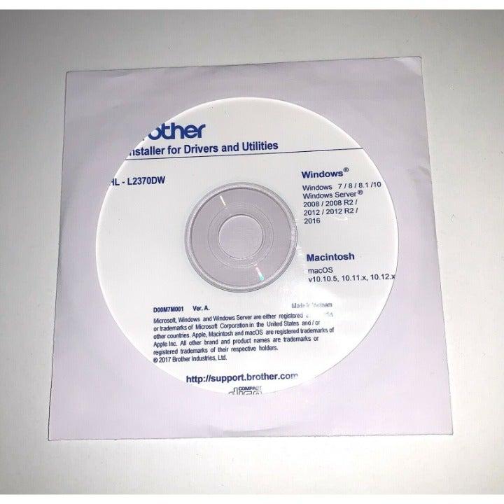 Brother HL-L2370DW Installer CD Drivers