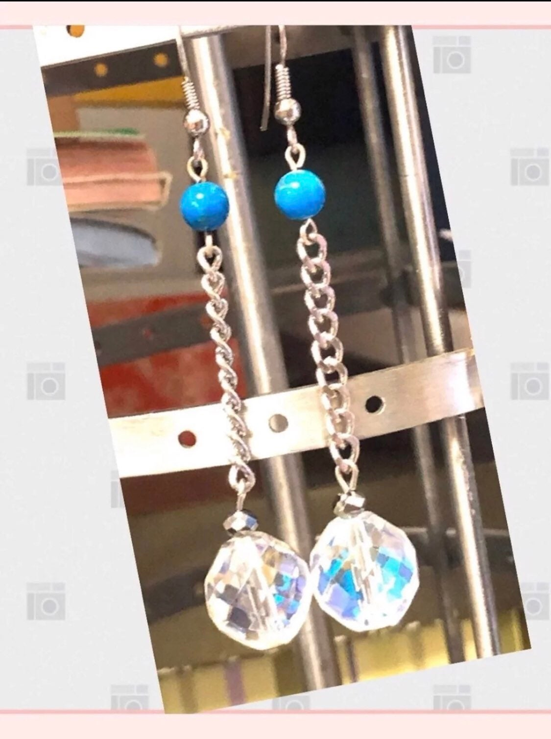 Long earrings boutique jewelry NEW
