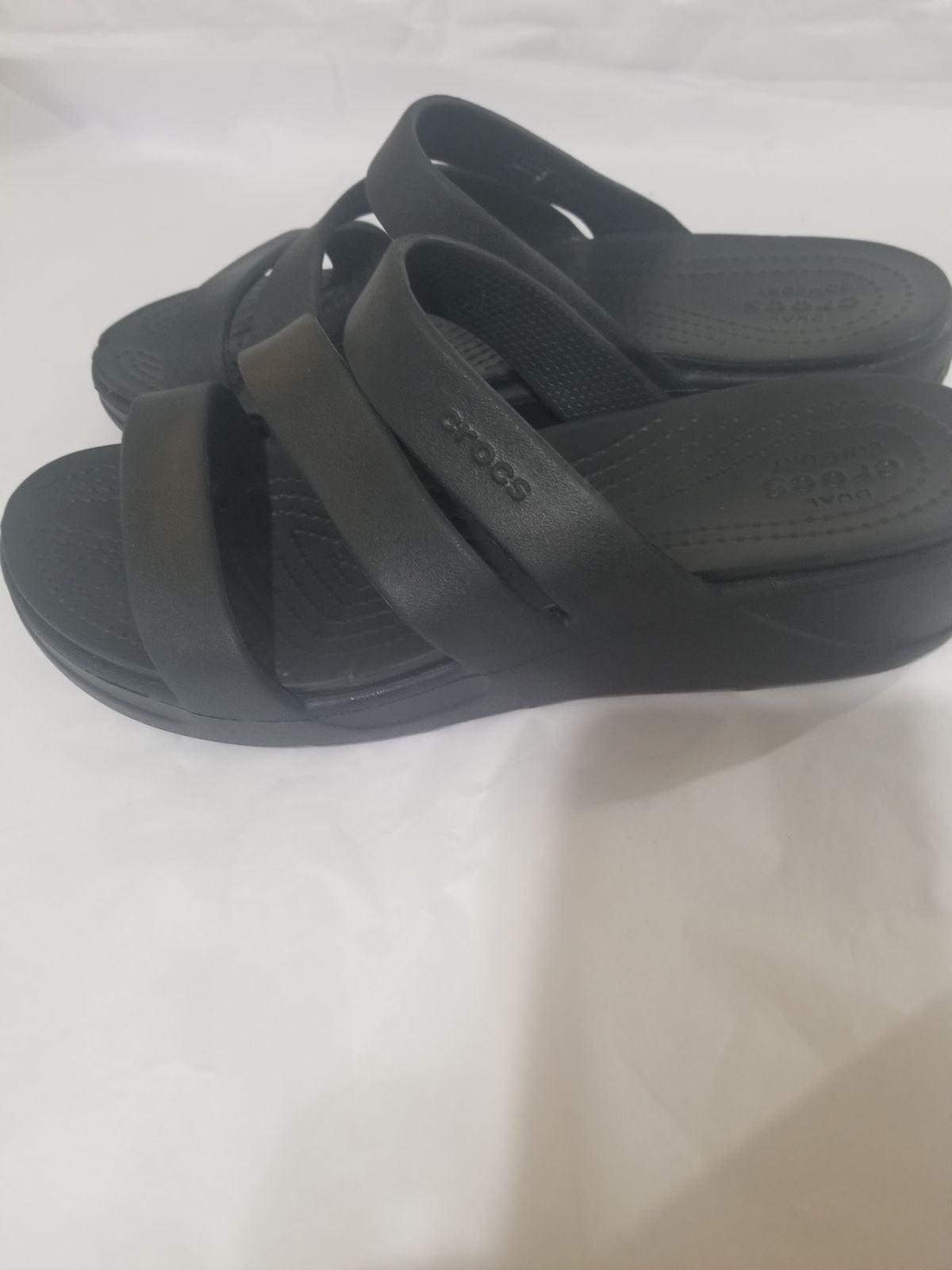 Crocs sandals women size 8