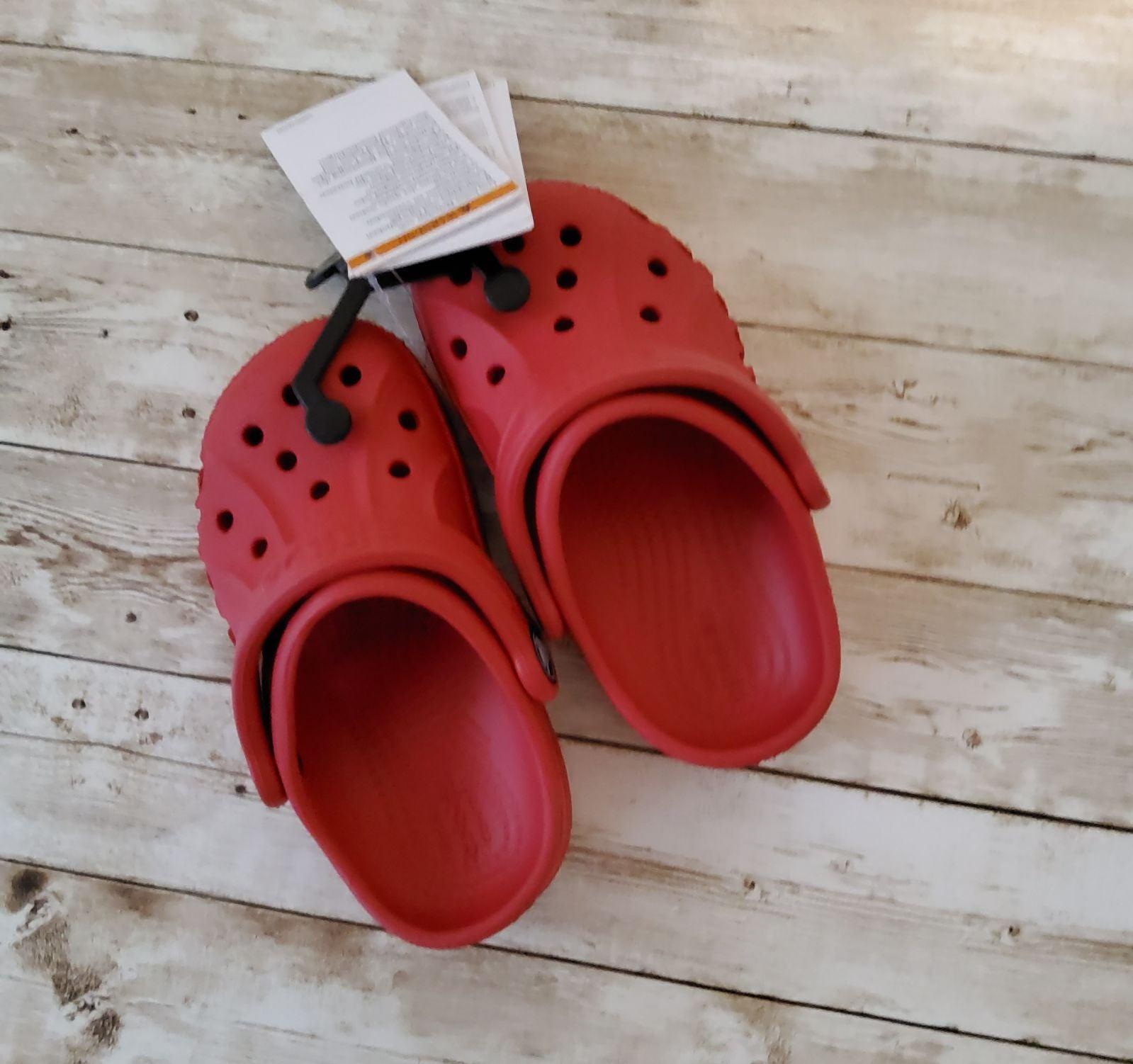 Crocs size 8 Toddler