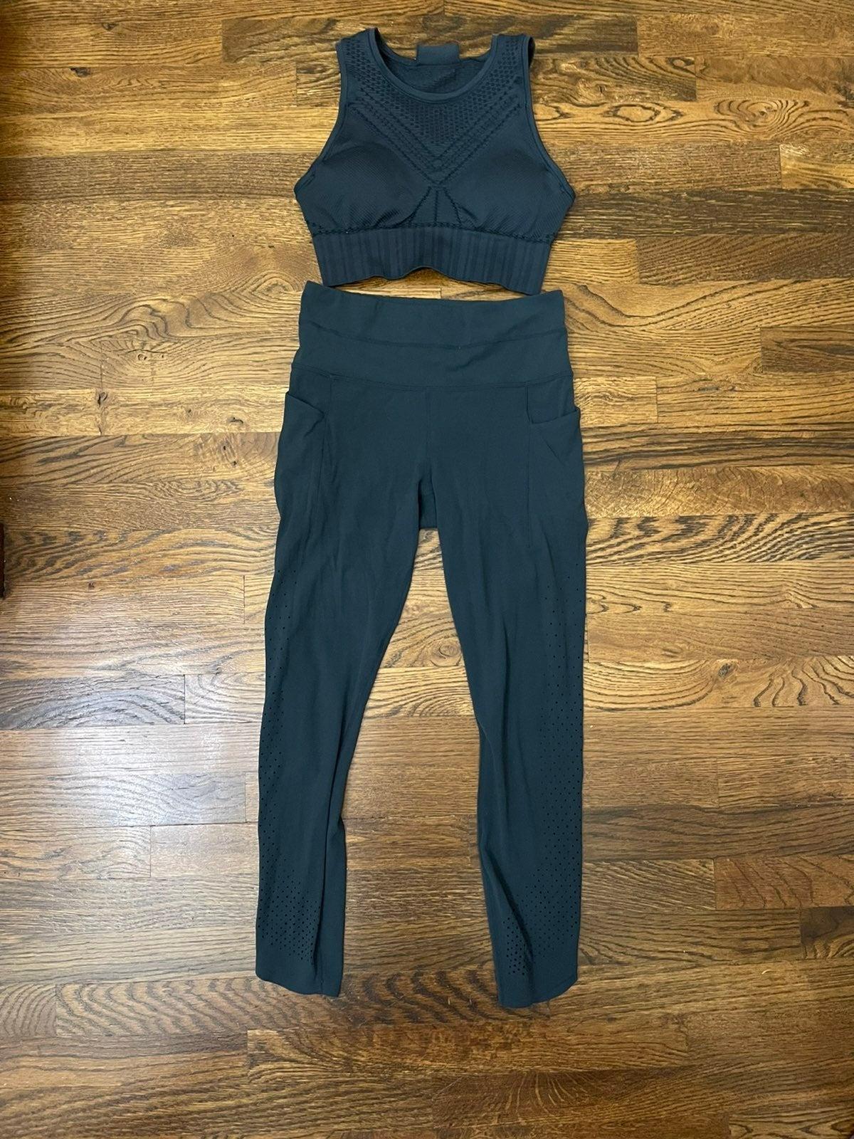 Athleta Bra/ leggings set, XS/ S