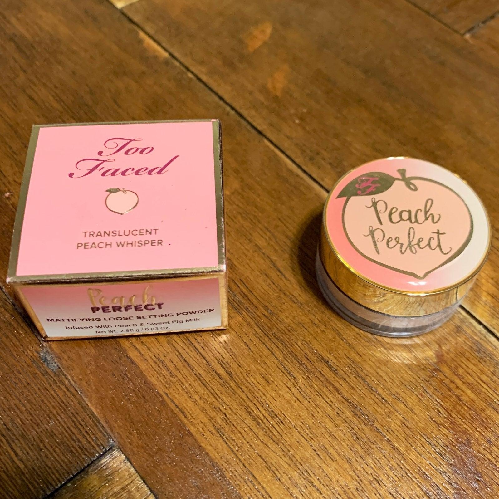 Too Faced Peach Perfect Mattifying Setti