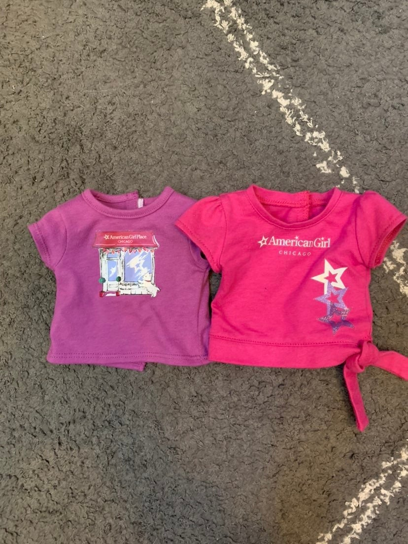 2 Chicago Tees for American Girl Doll