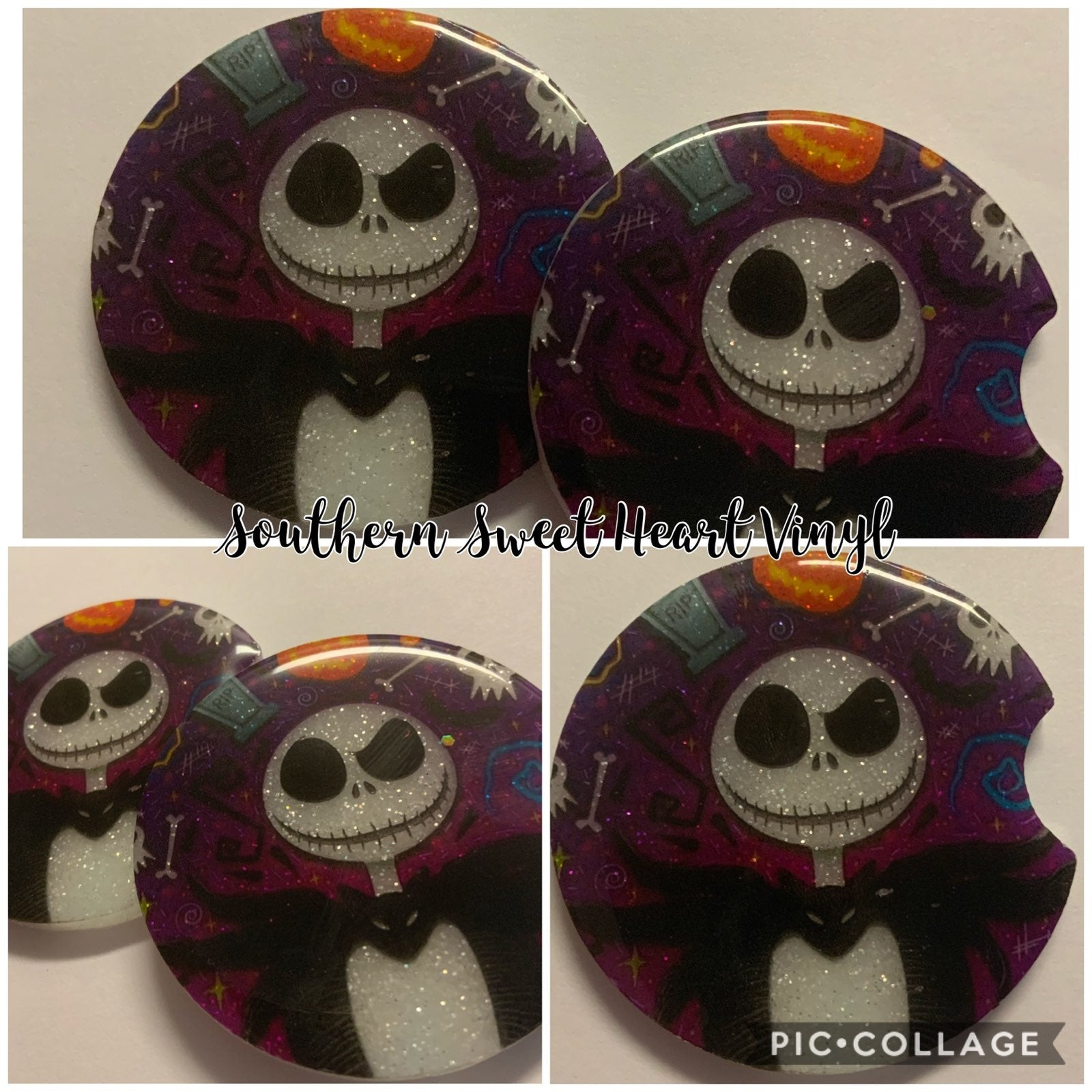 Nightmare before christams car coaster s