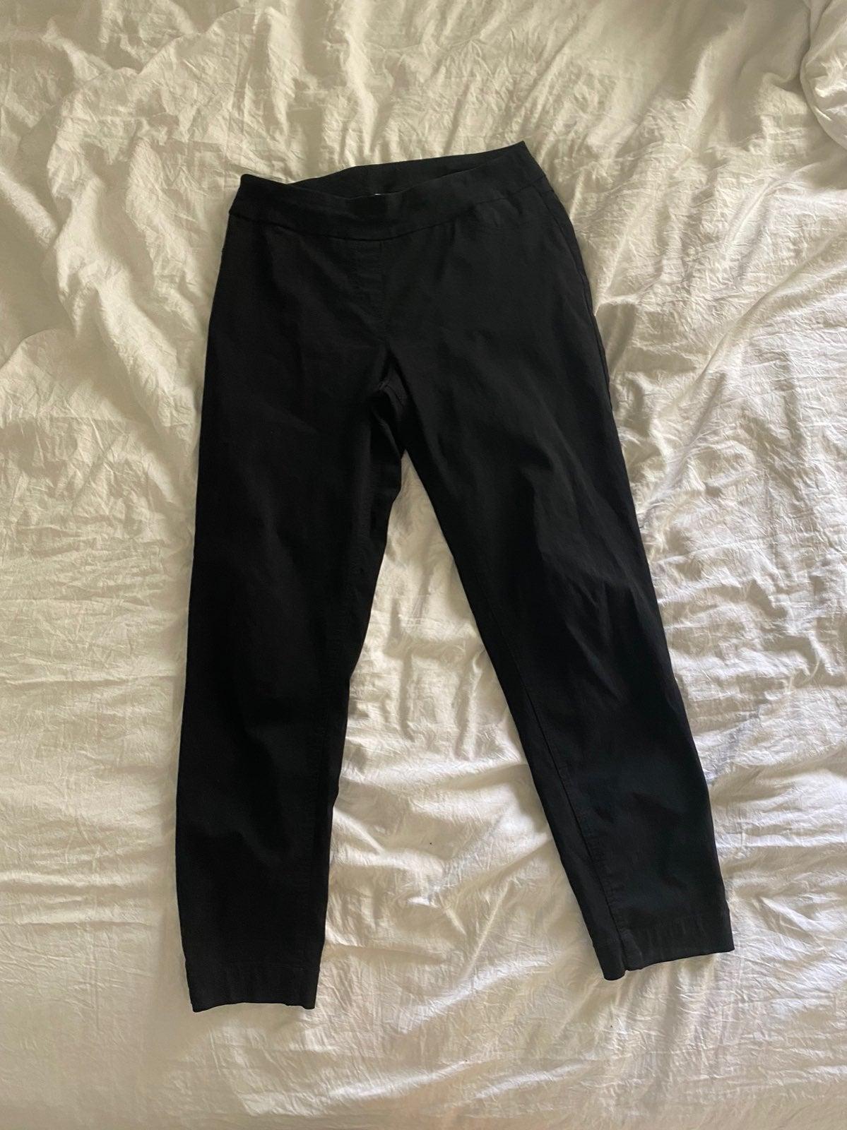 Soft surroundings black pants small
