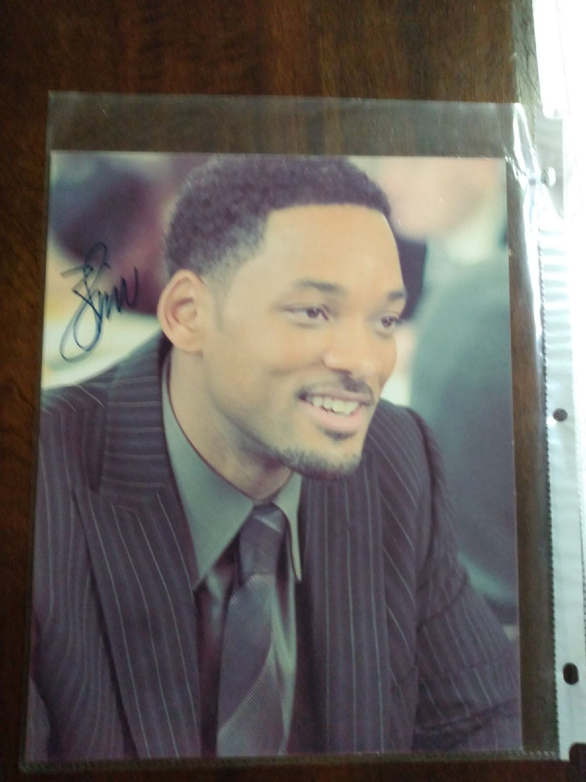 Will Smith Fresh Prince autographed phot