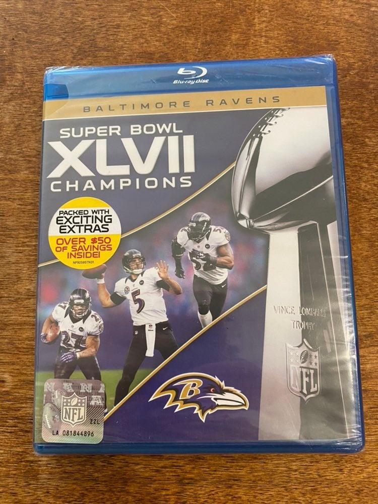 Baltimore Ravens Super Bowl Blu-ray New