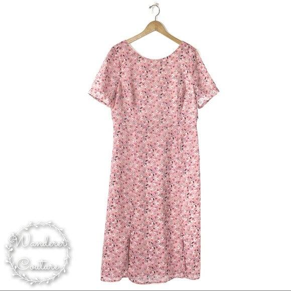 BODEN Jane Milkshake Blossom Vine Dress