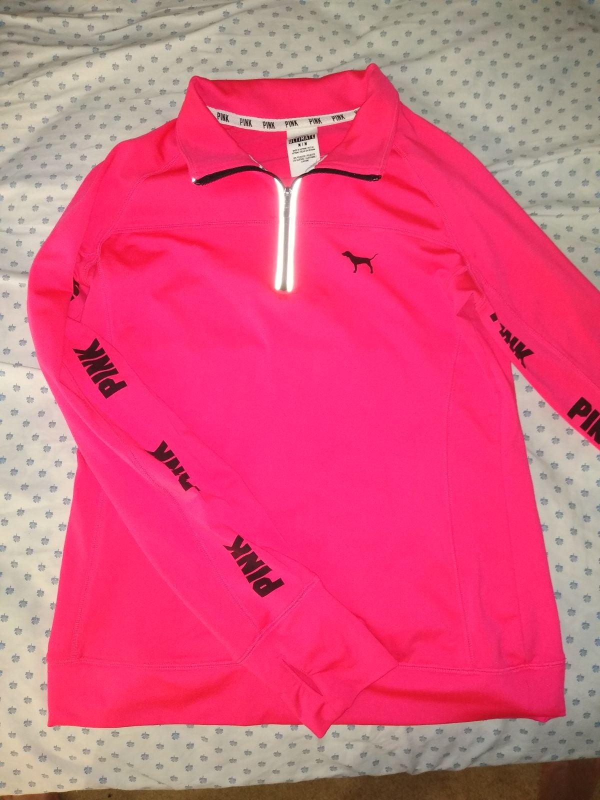 Victoria secret PINK quarter zip hoodie