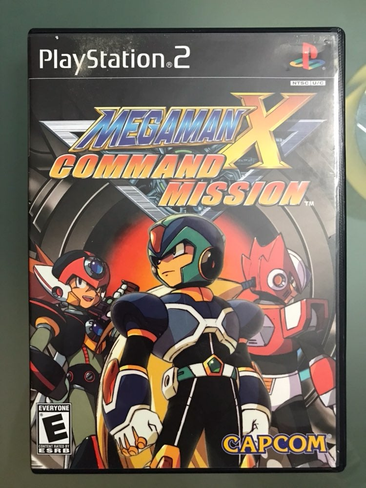 MegaMan X Command Mission Game for PS2