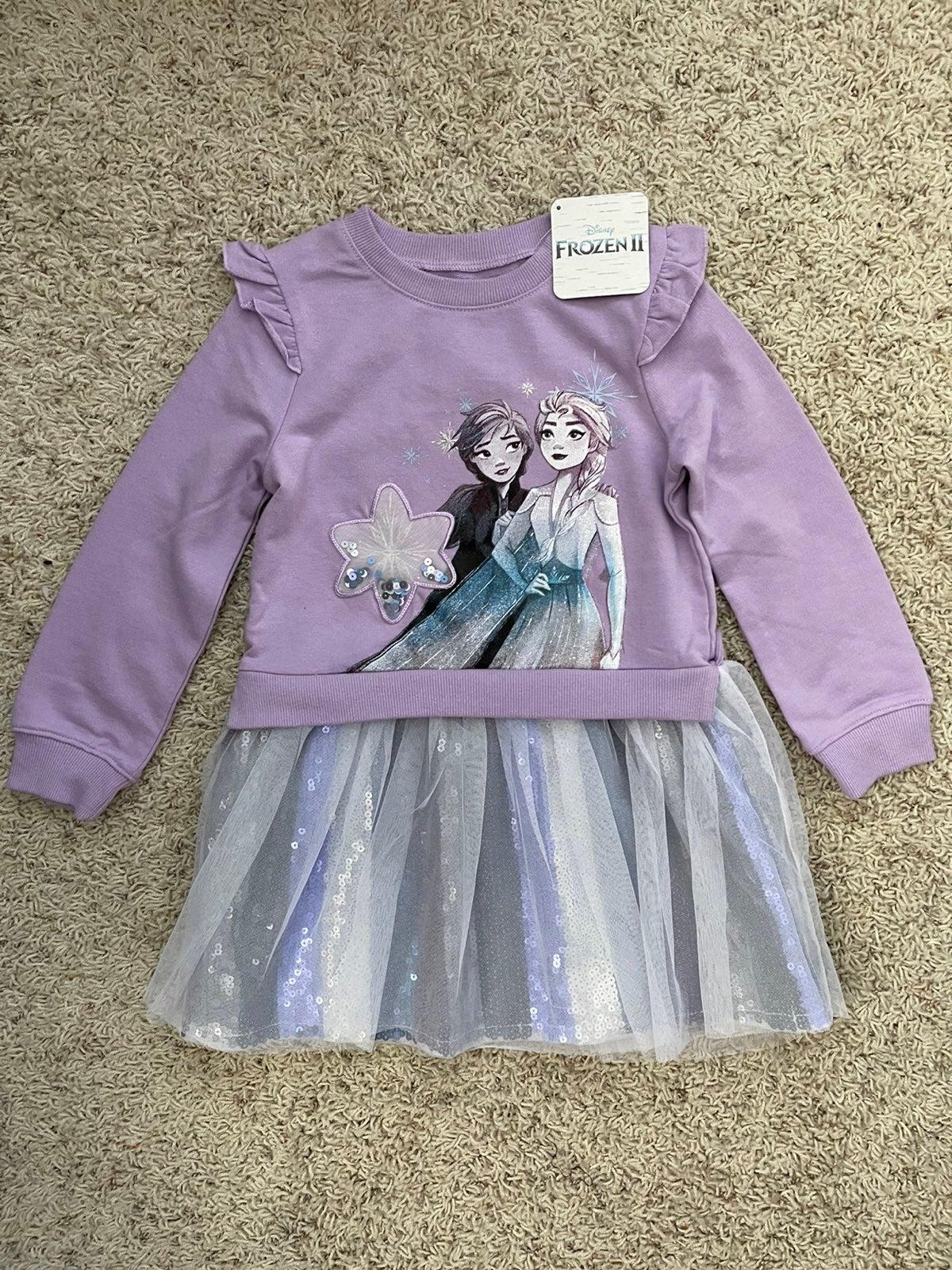 Disney Frozen Girls Sweater Dress NWT 3T