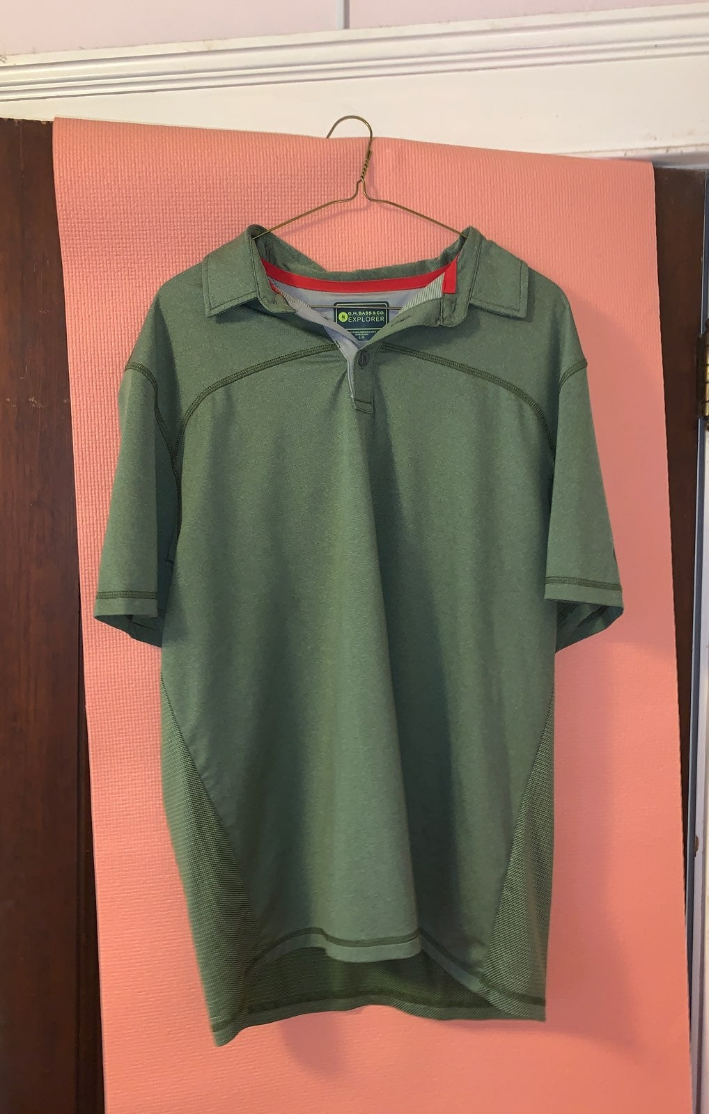 Dri-Fit Mens Shirt (Green)