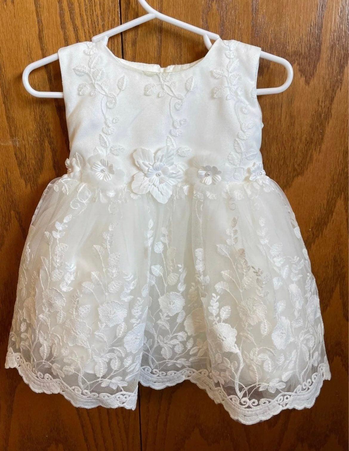 Baby Girl Christening Dress 3 months