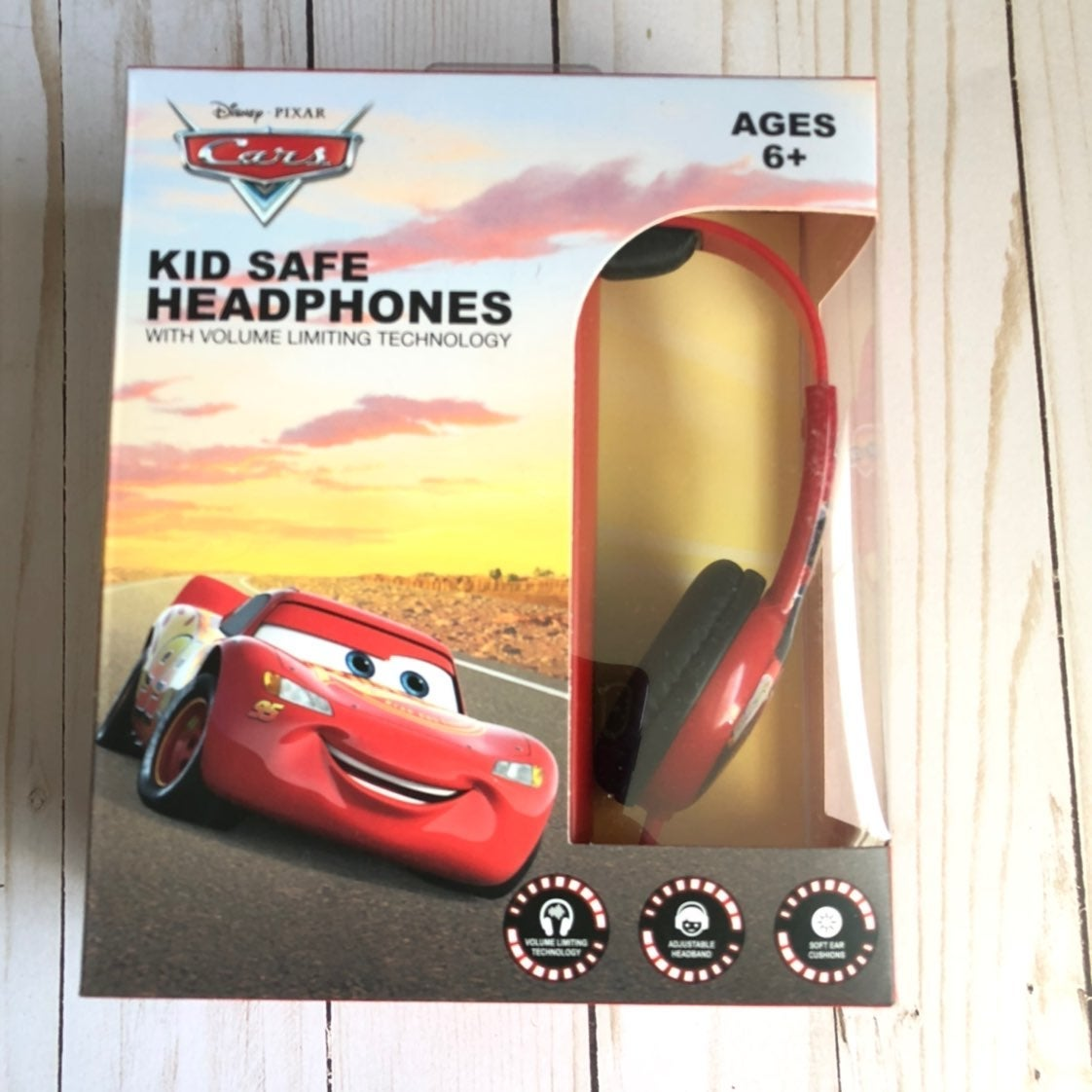 Disney Pixar Cars Kods Headphones