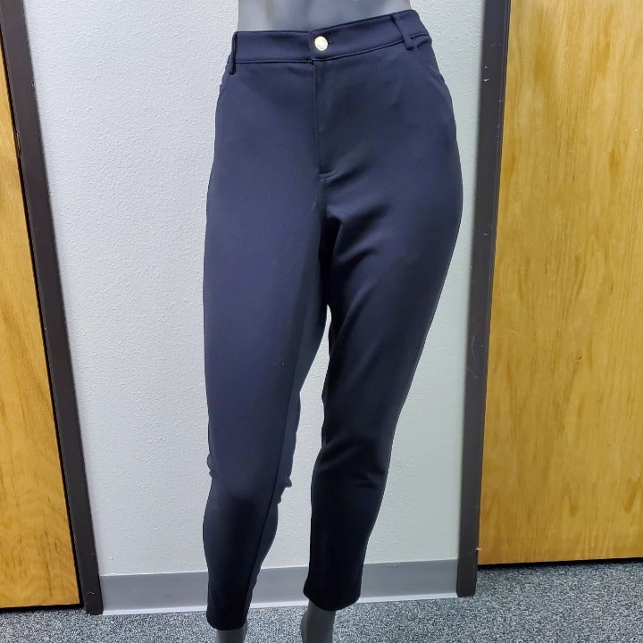 MK Black Stretchy Dress Pants 16W