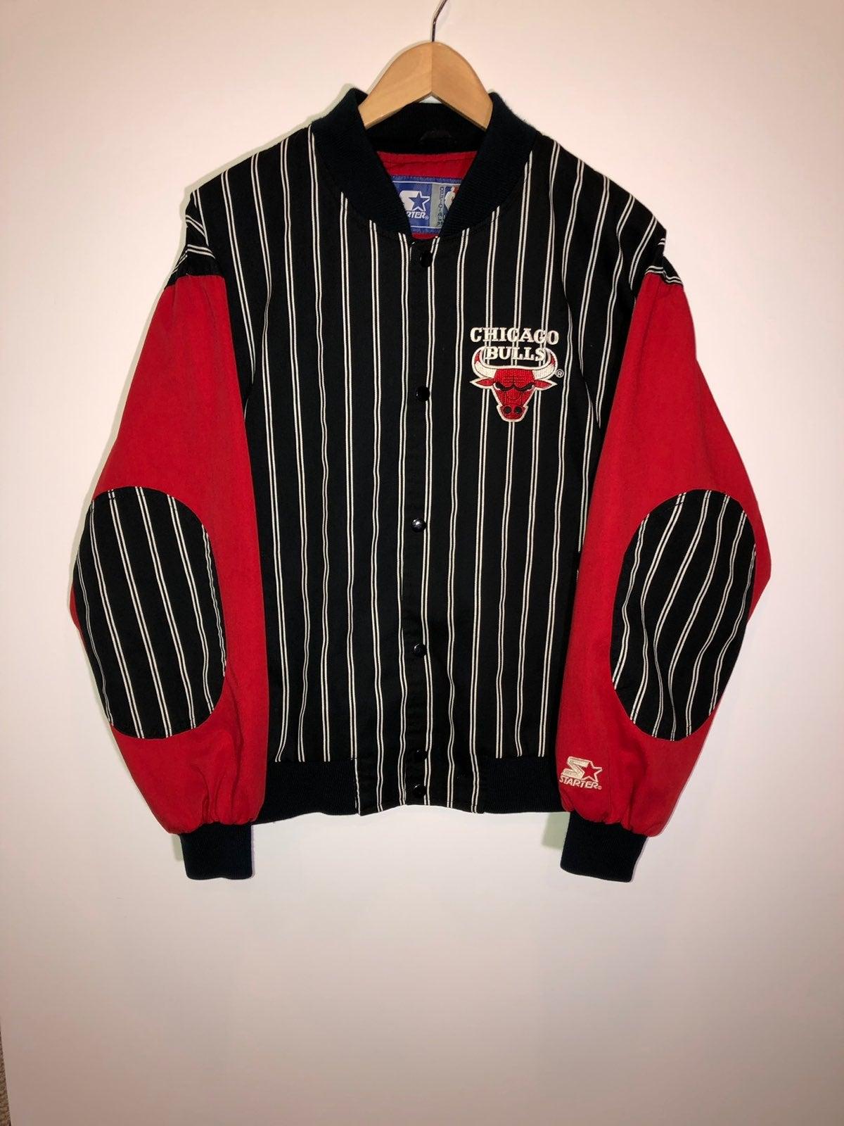 Vintage Bulls Starter Jacket