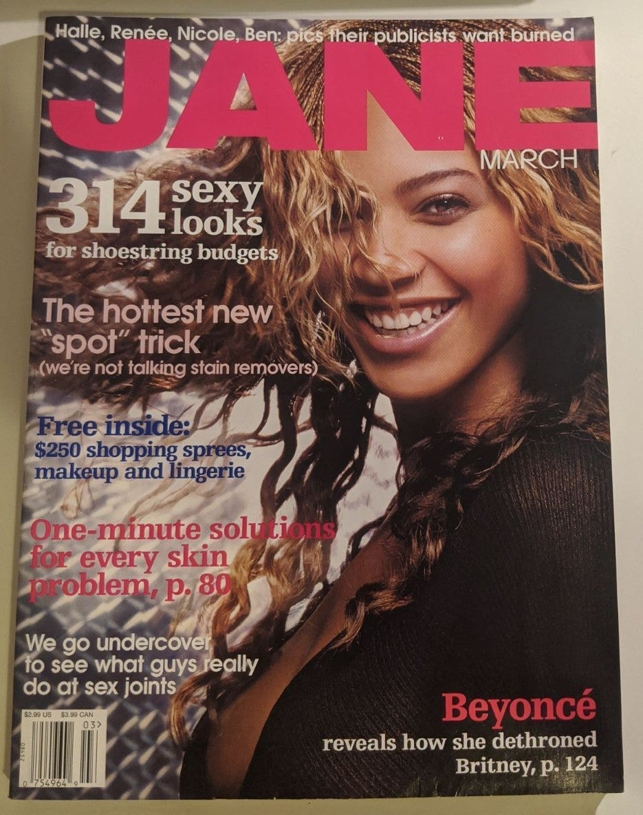 Beyonce Vintage Jane Magazine