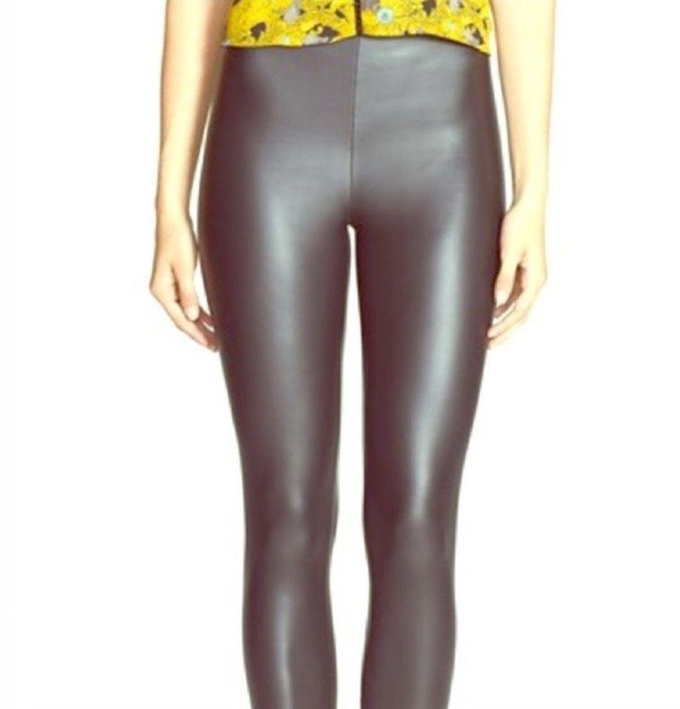 Leith Faux Leather leggings
