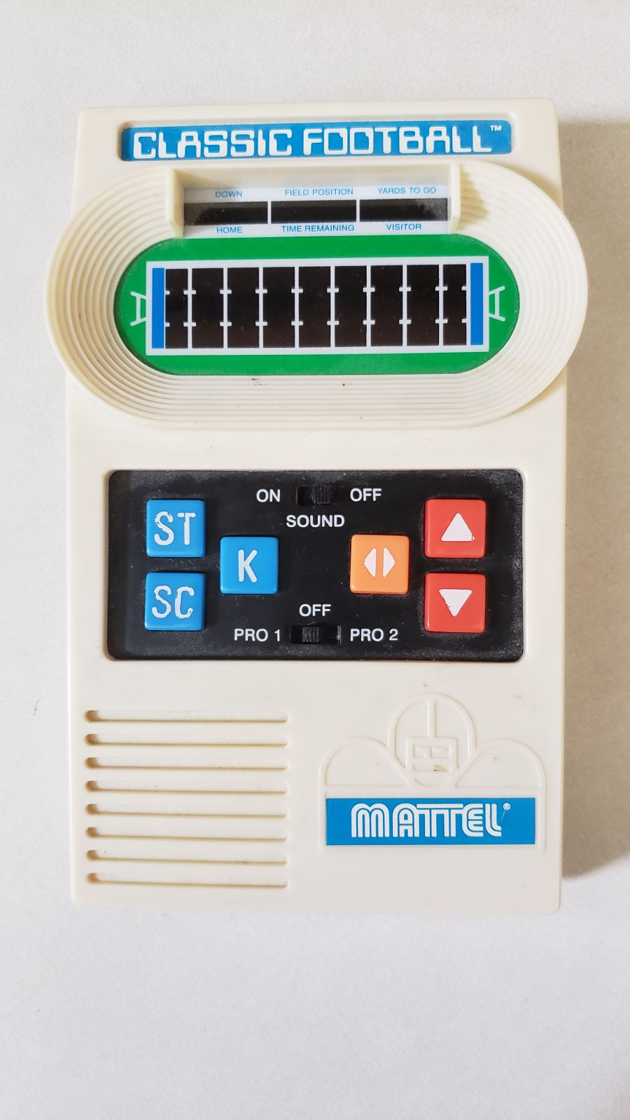Classic Football Mattel