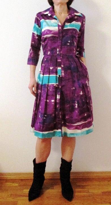 New Samantha Sung Audrey Shirt Dress 2